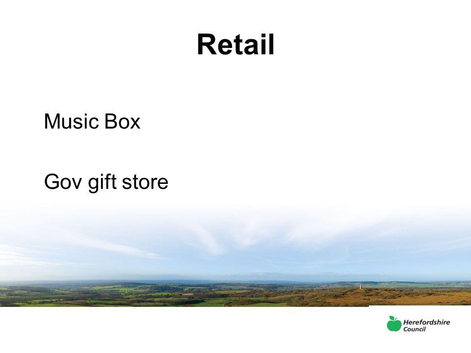 Retail Music Box Gov gift store