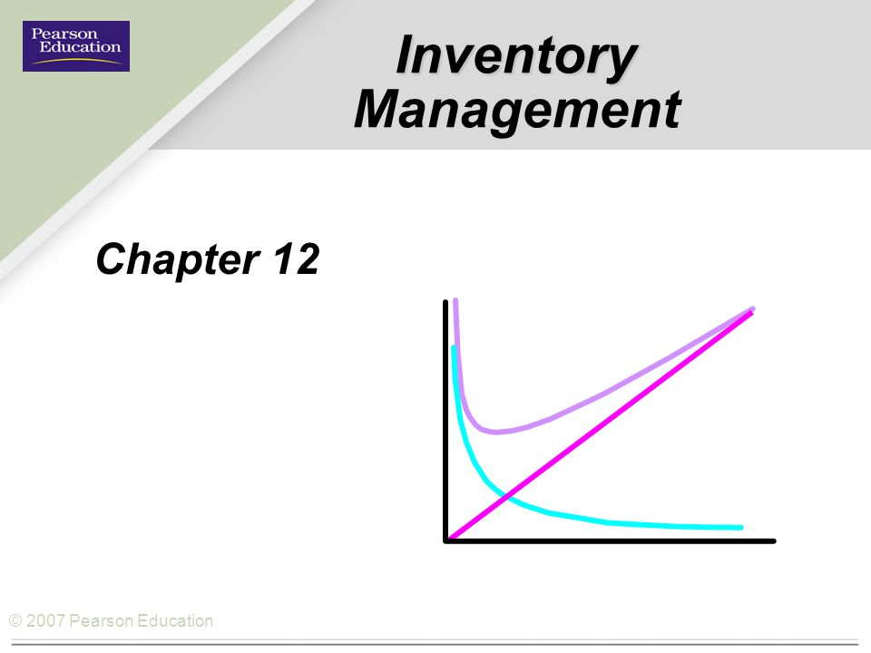 Inventory Management Chapter 12