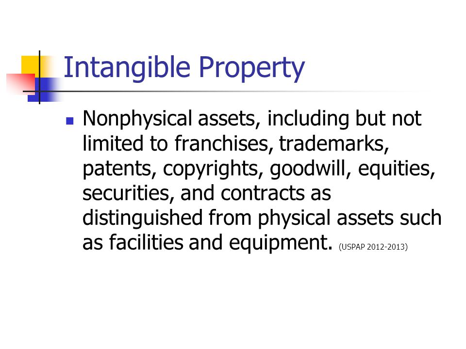Intangible Property