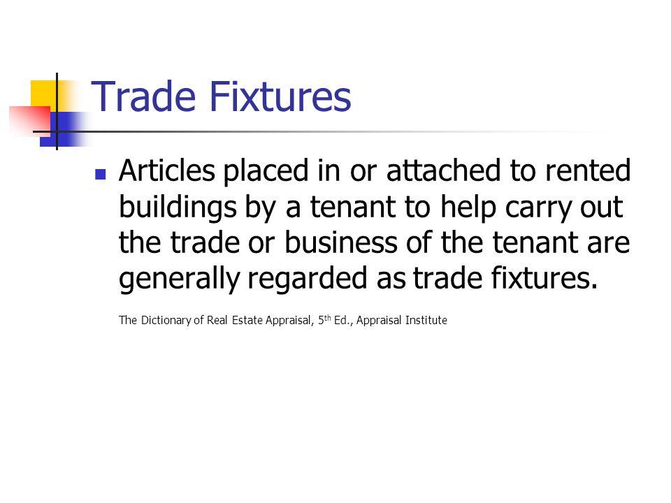 Trade Fixtures