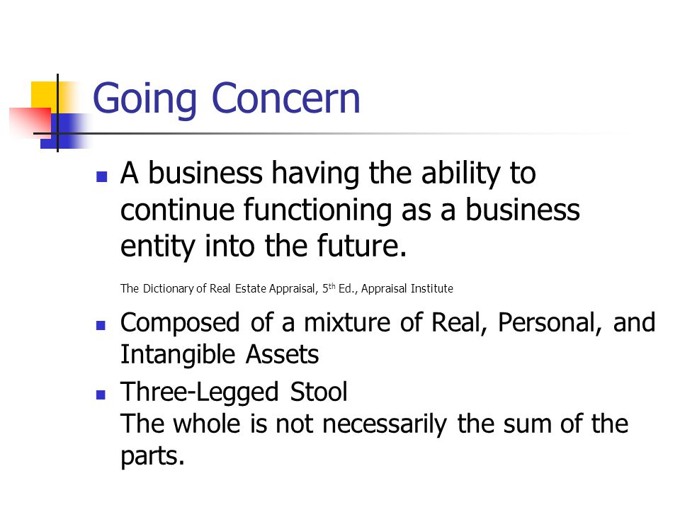 Going Concern