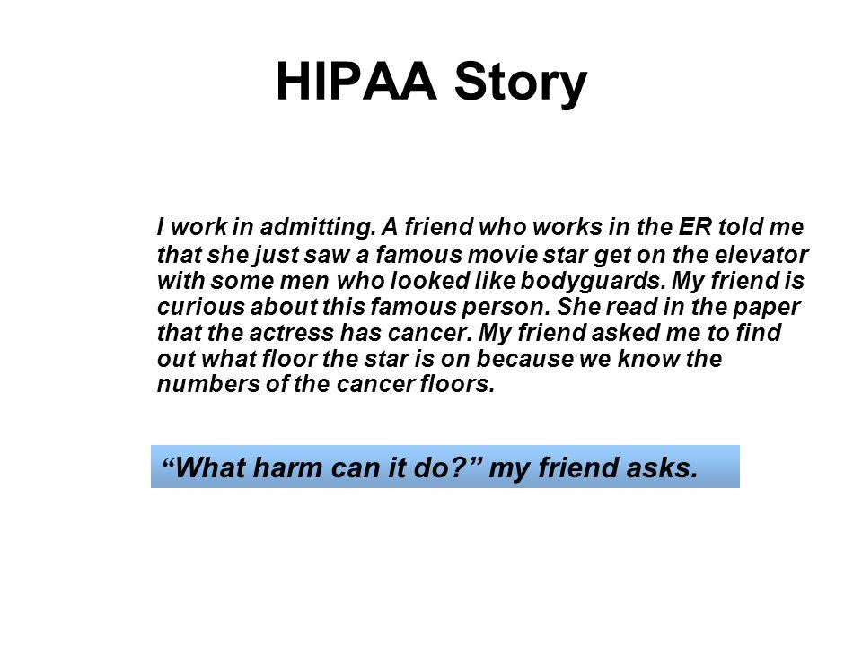 HIPAA Story