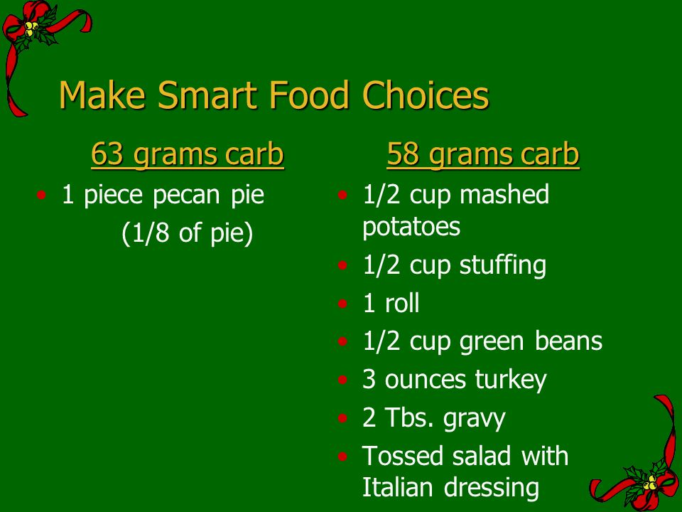 Make Smart Food Choices