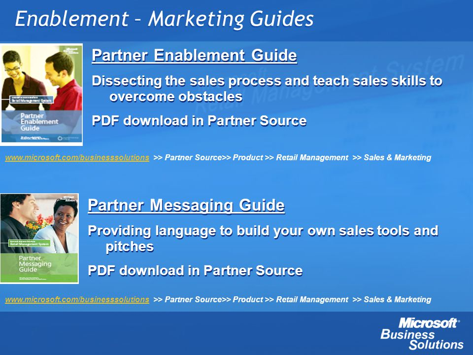 Enablement – Marketing Guides