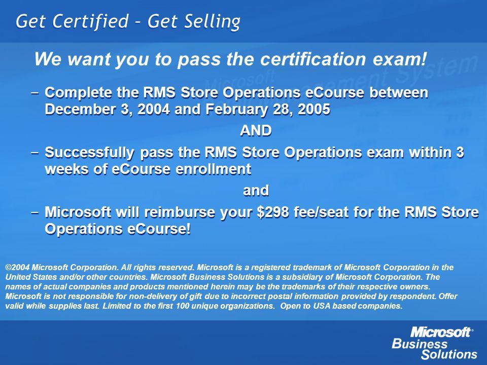 Get Certified – Get Selling