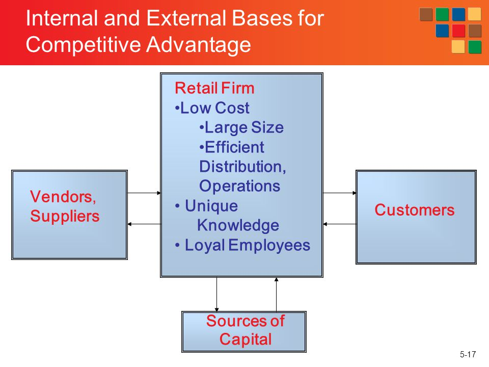 Internal and External Bases for Competitive Advantage