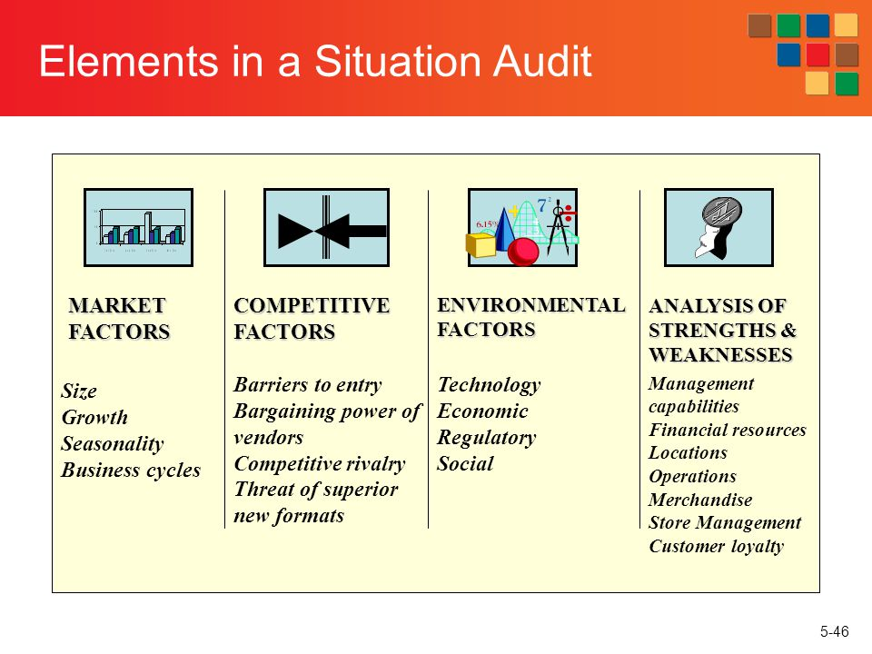 Elements in a Situation Audit