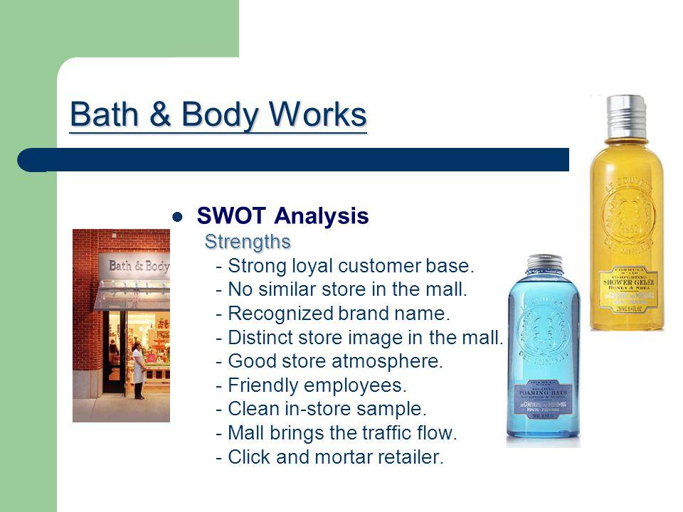 Bath & Body Works SWOT Analysis Strengths
