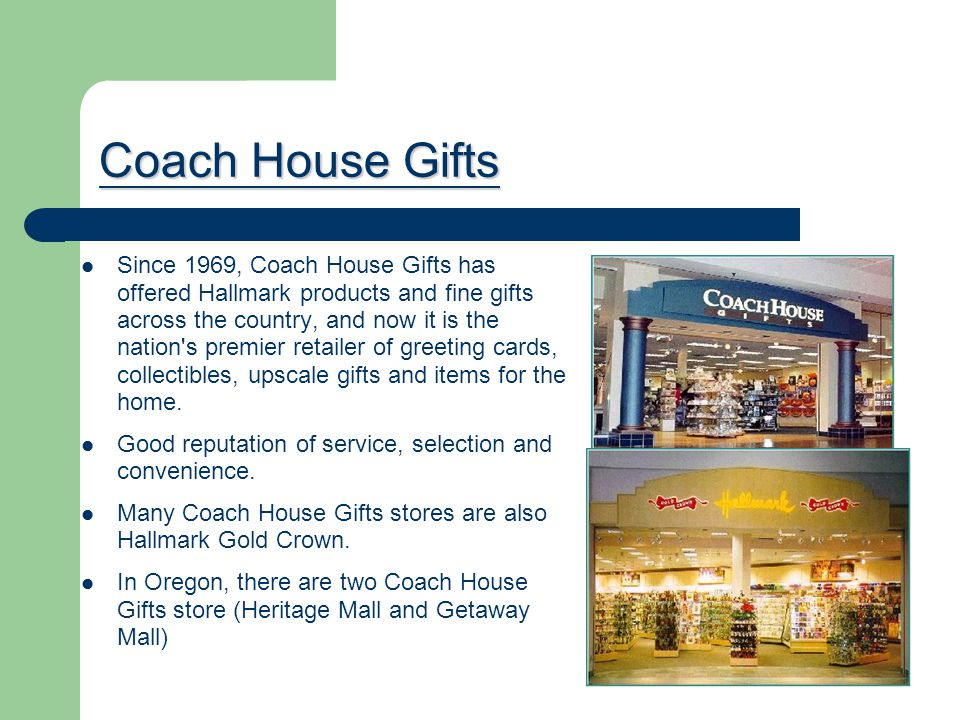 Coach House Gifts