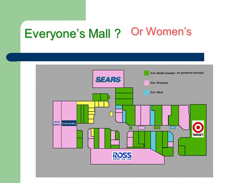 Everyone's Mall Or Women's