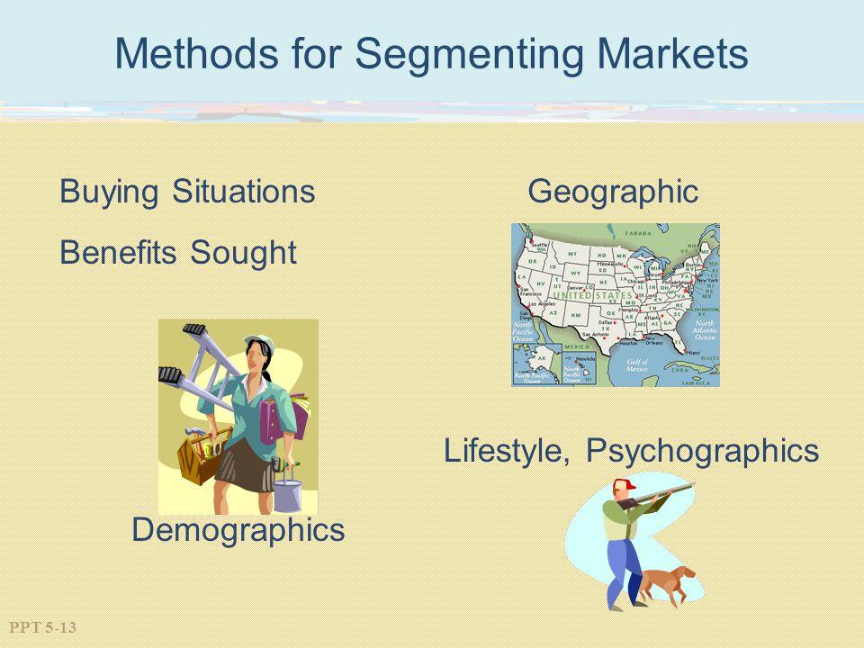 Methods for Segmenting Markets