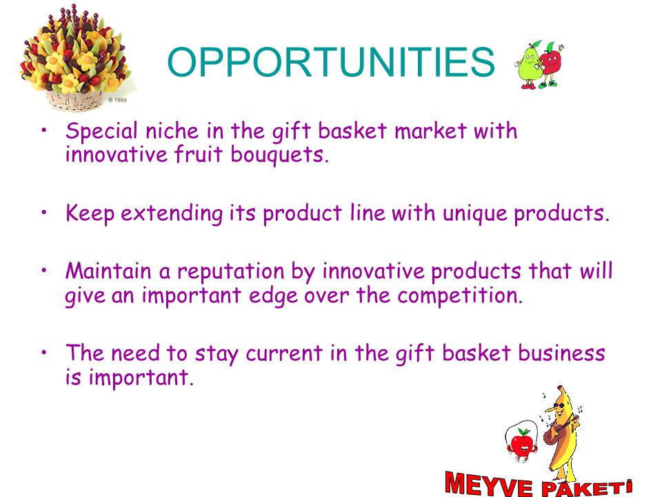 OPPORTUNITIES MEYVE PAKETİ