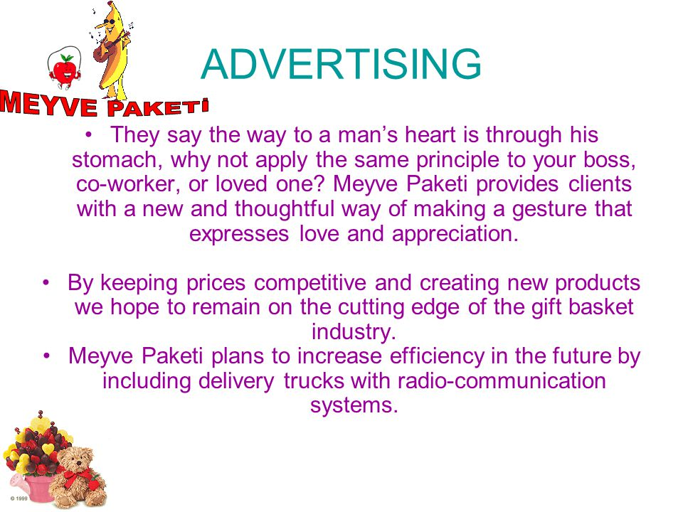 ADVERTISING MEYVE PAKETİ