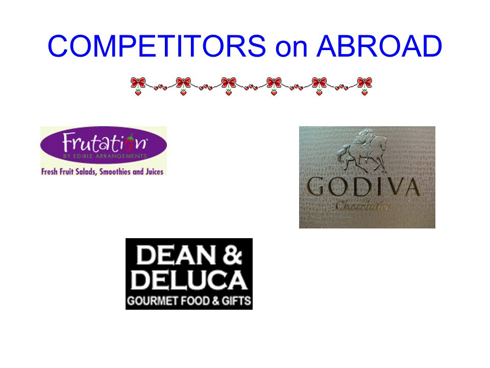 COMPETITORS on ABROAD