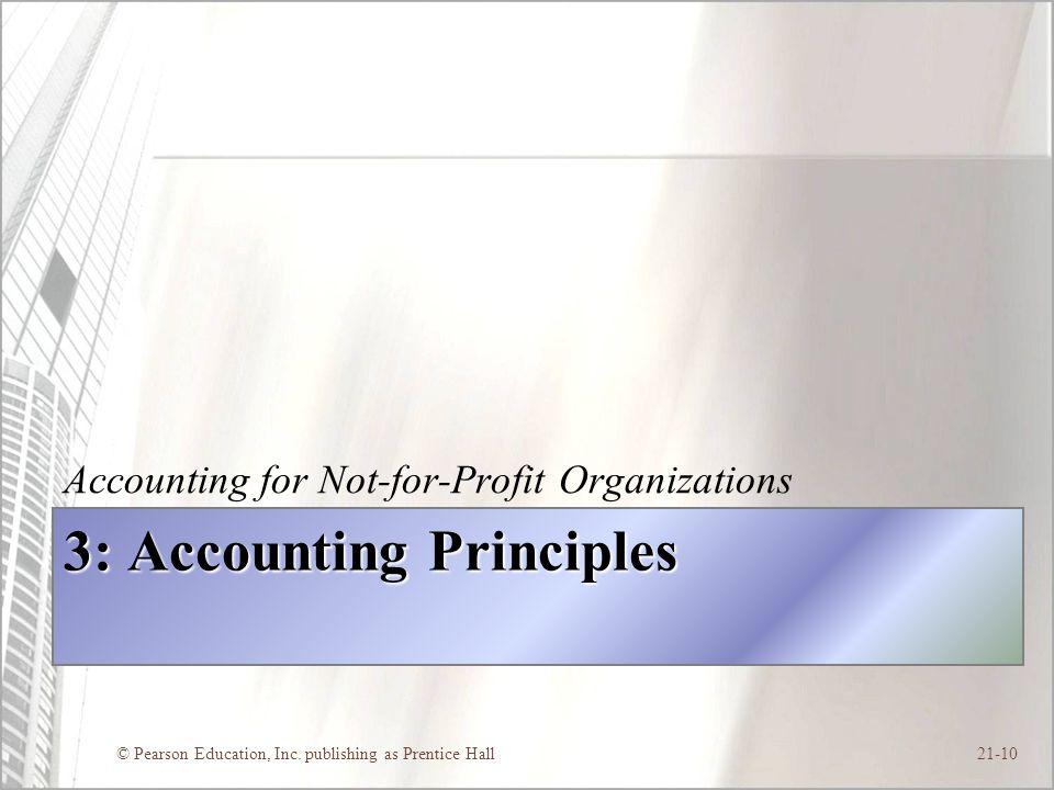3: Accounting Principles