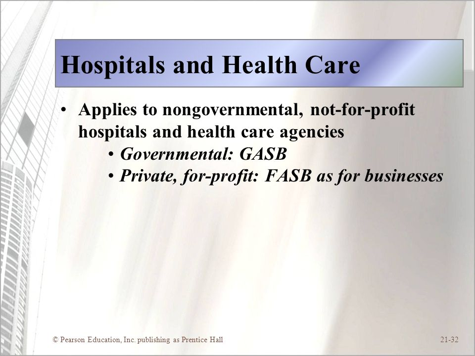 Hospitals and Health Care