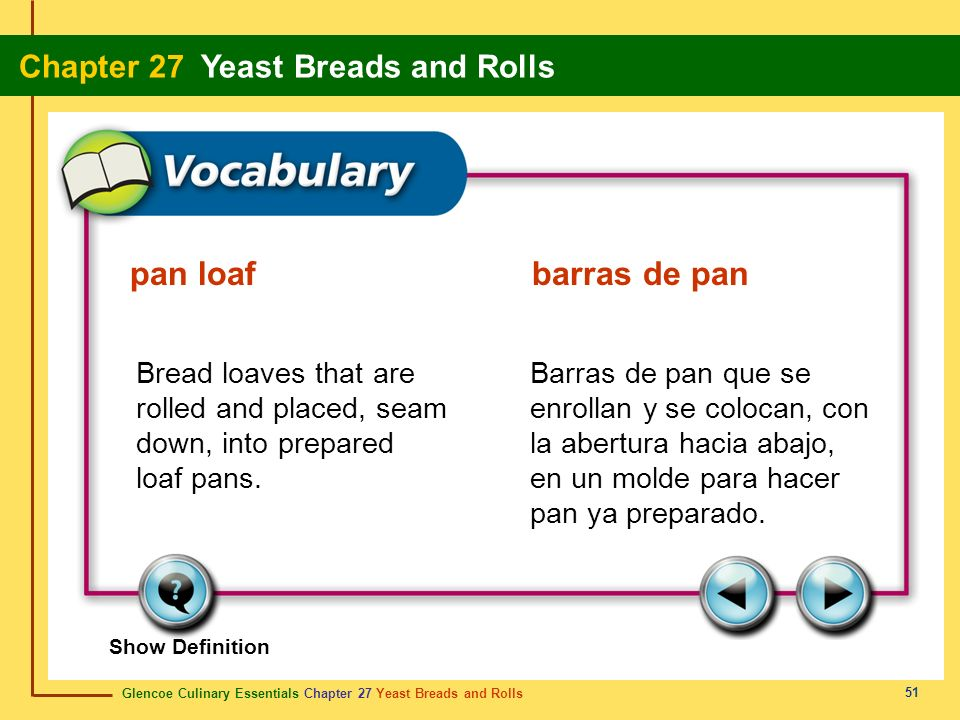 pan loaf barras de pan Bread loaves that are rolled and placed, seam down, into prepared loaf pans.