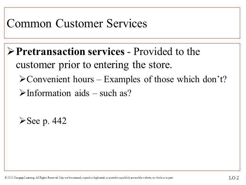 Common Customer Services