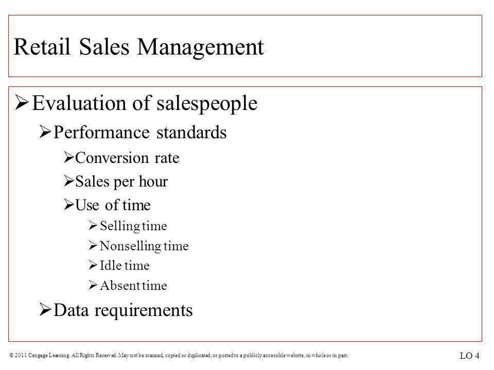 Retail Sales Management