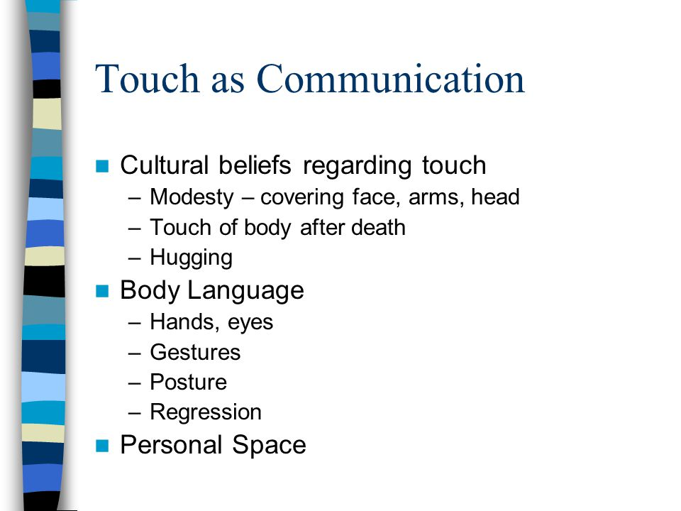 Touch as Communication