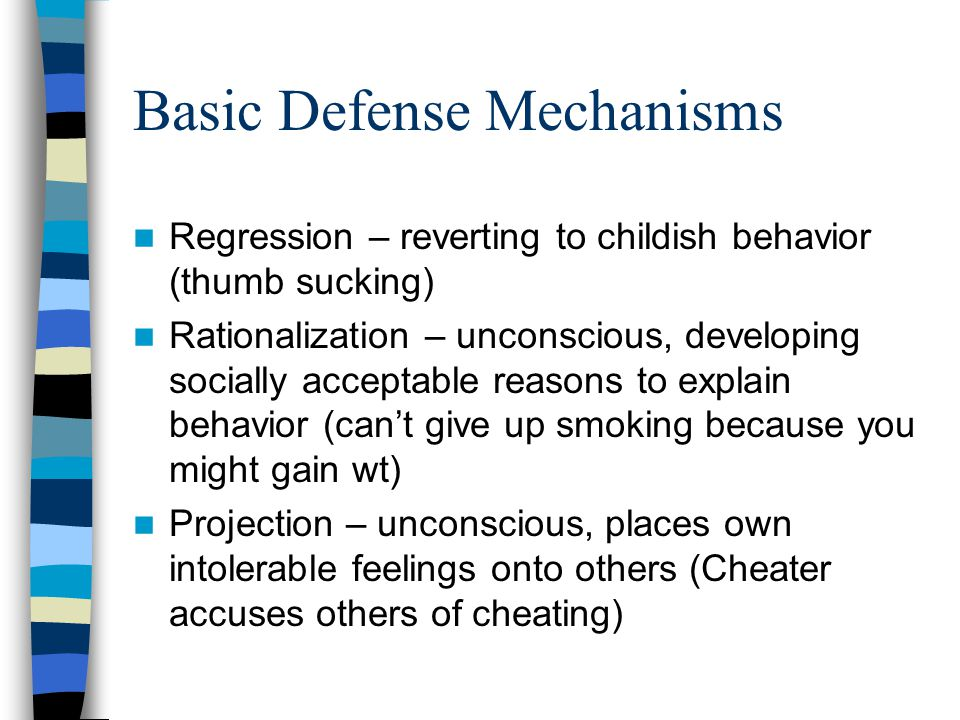 Basic Defense Mechanisms
