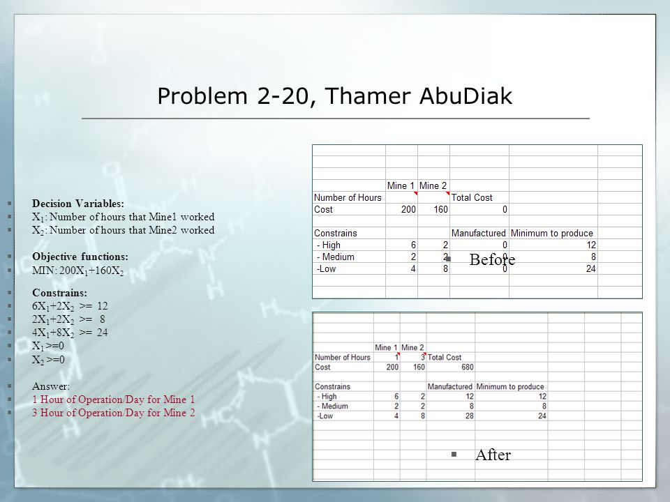 Problem 2-20, Thamer AbuDiak