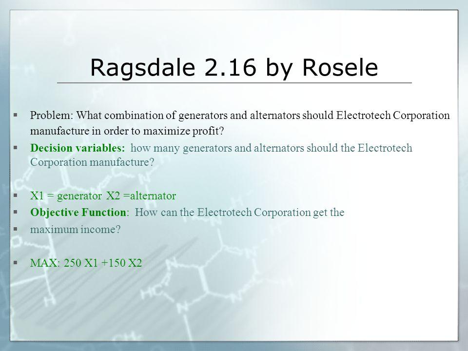 Ragsdale 2.16 by Rosele