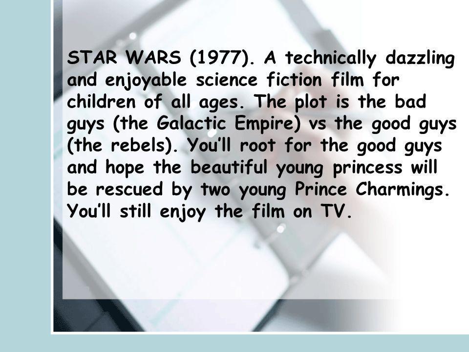 STAR WARS (1977).