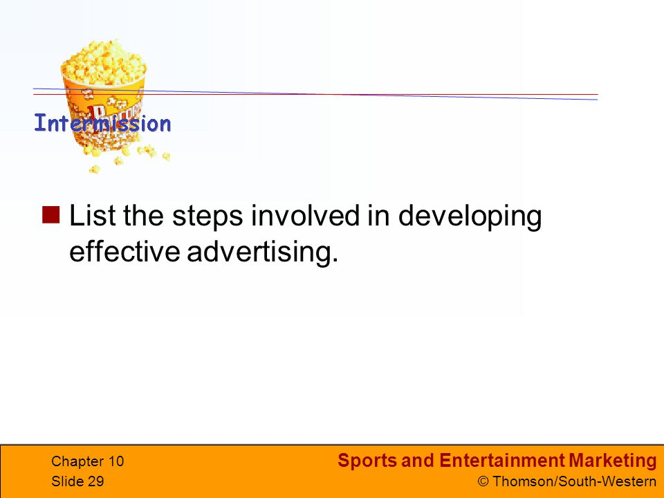 List the steps involved in developing effective advertising.