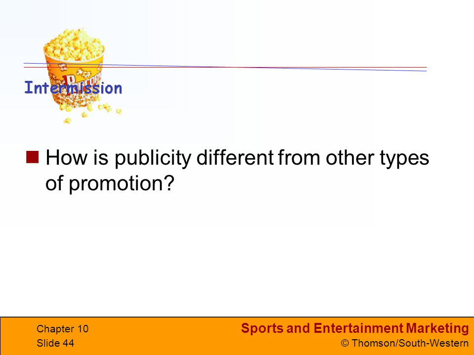 How is publicity different from other types of promotion