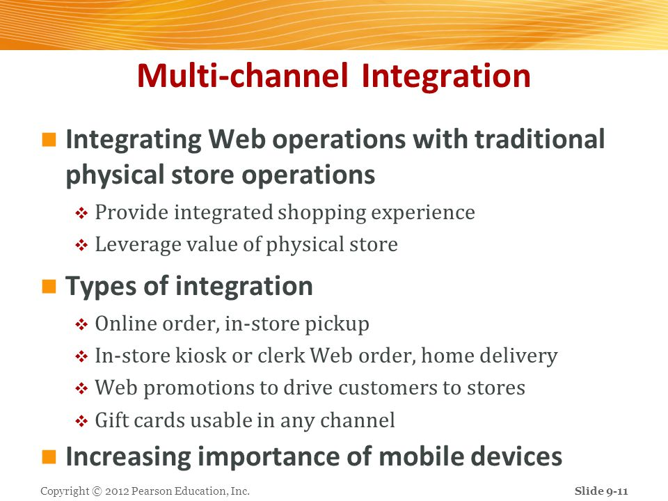 Multi-channel Integration