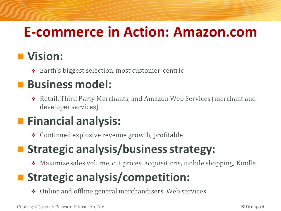 E-commerce in Action: Amazon.com
