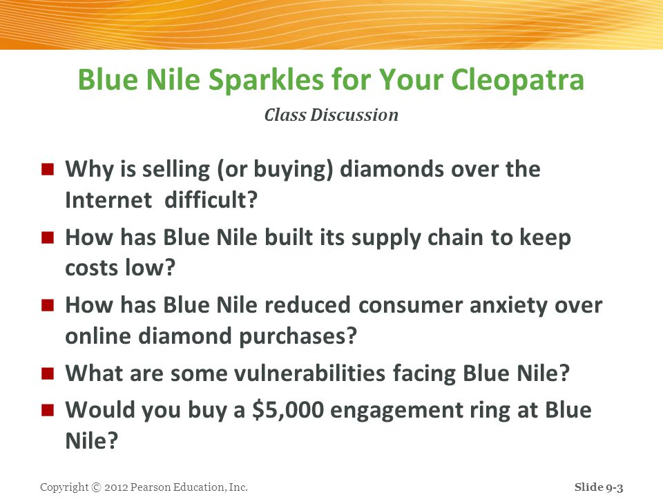 Blue Nile Sparkles for Your Cleopatra