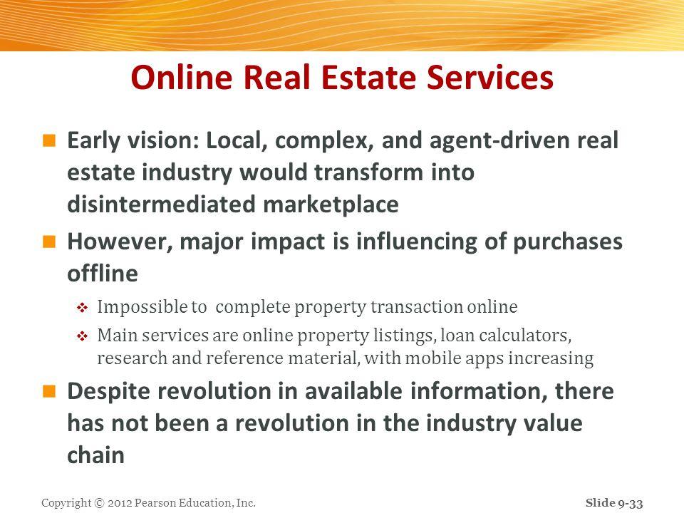 Online Real Estate Services
