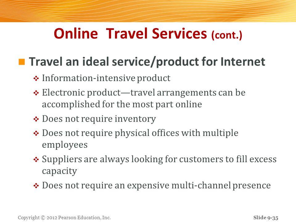 Online Travel Services (cont.)