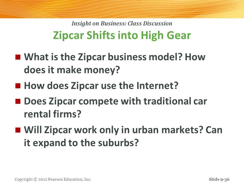 Zipcar Shifts into High Gear