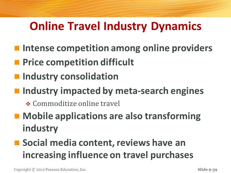 Online Travel Industry Dynamics