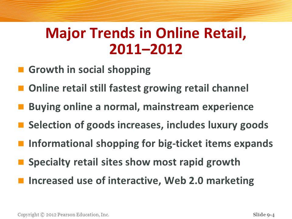 Major Trends in Online Retail, 2011–2012