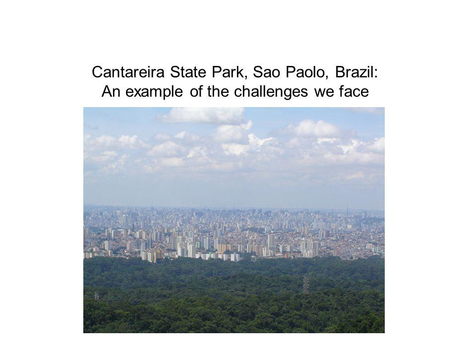 Cantareira State Park, Sao Paolo, Brazil: