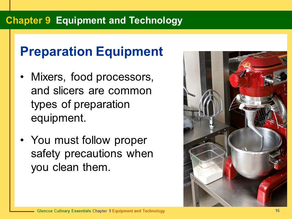 Preparation Equipment