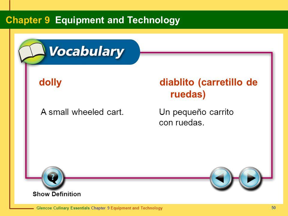 dolly diablito (carretillo de ruedas)