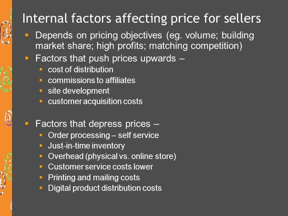 External factors affecting mobile phone pricing