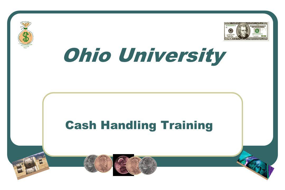 Cash Handling Training