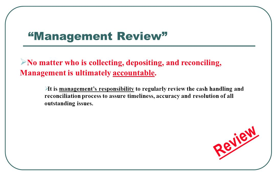 Review Management Review