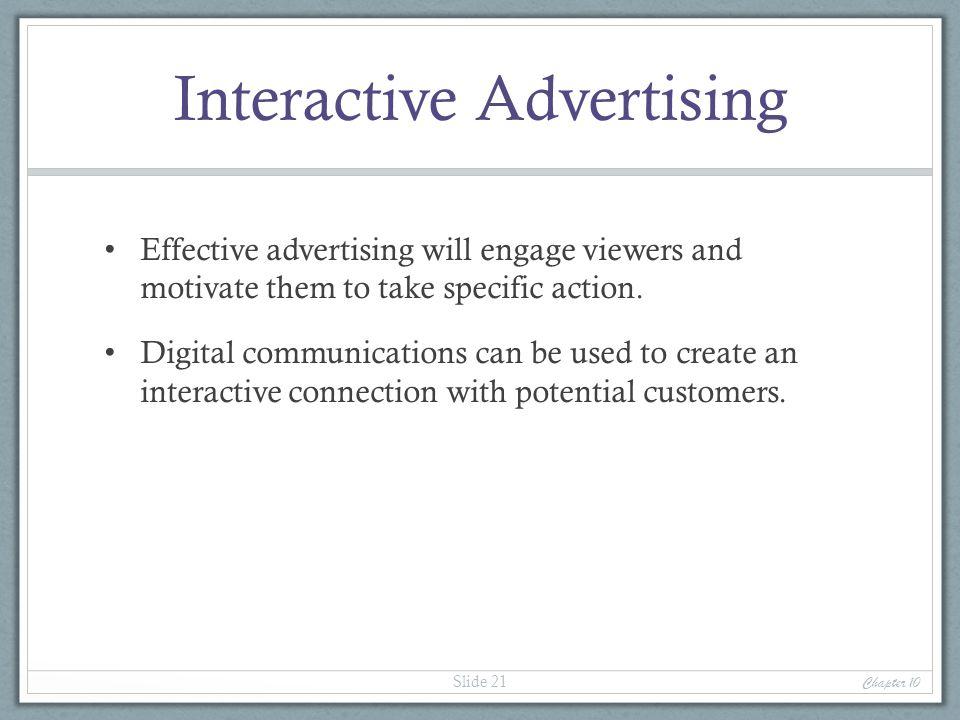 Interactive Advertising