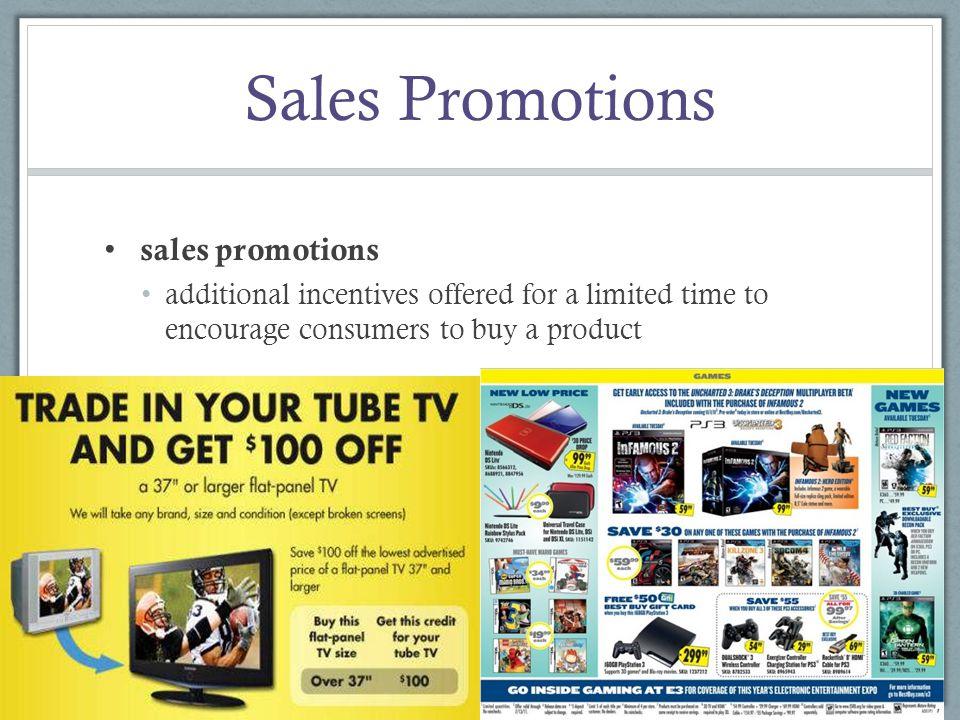 Sales Promotions sales promotions