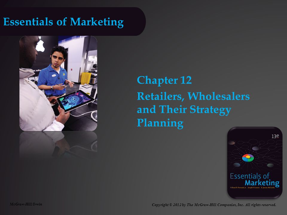 Essentials of Marketing 13e