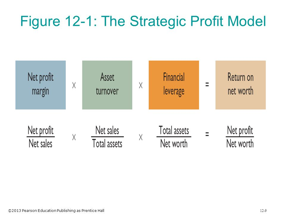 Figure 12-1: The Strategic Profit Model