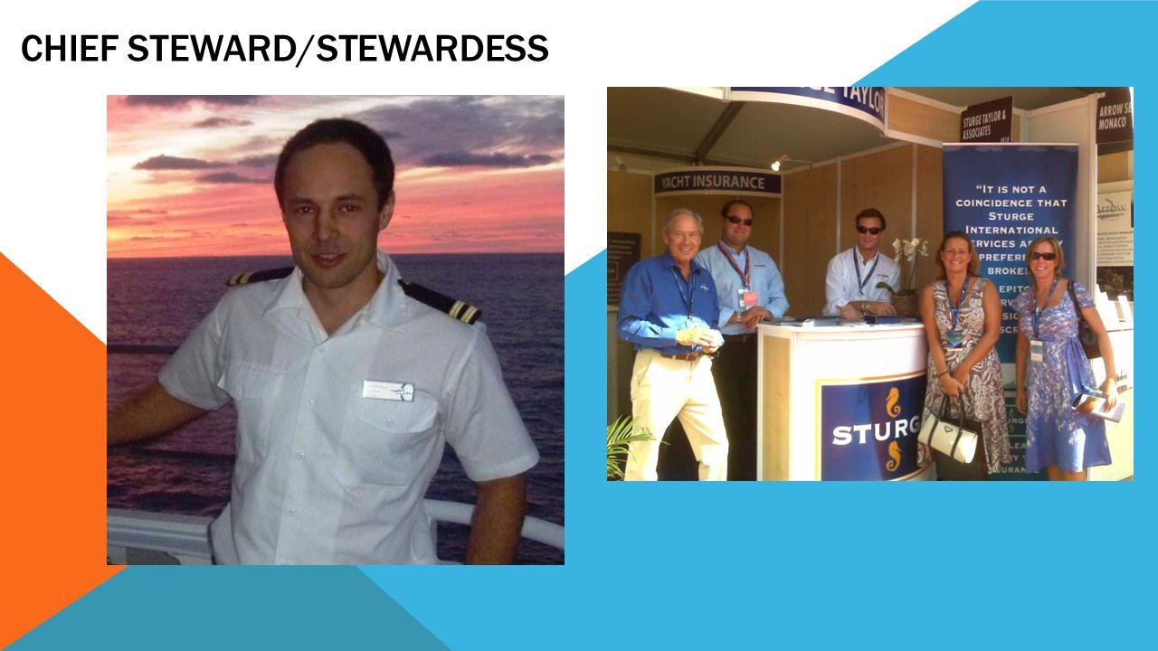 Chief Steward/Stewardess