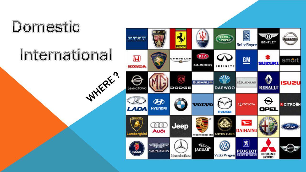 Domestic International
